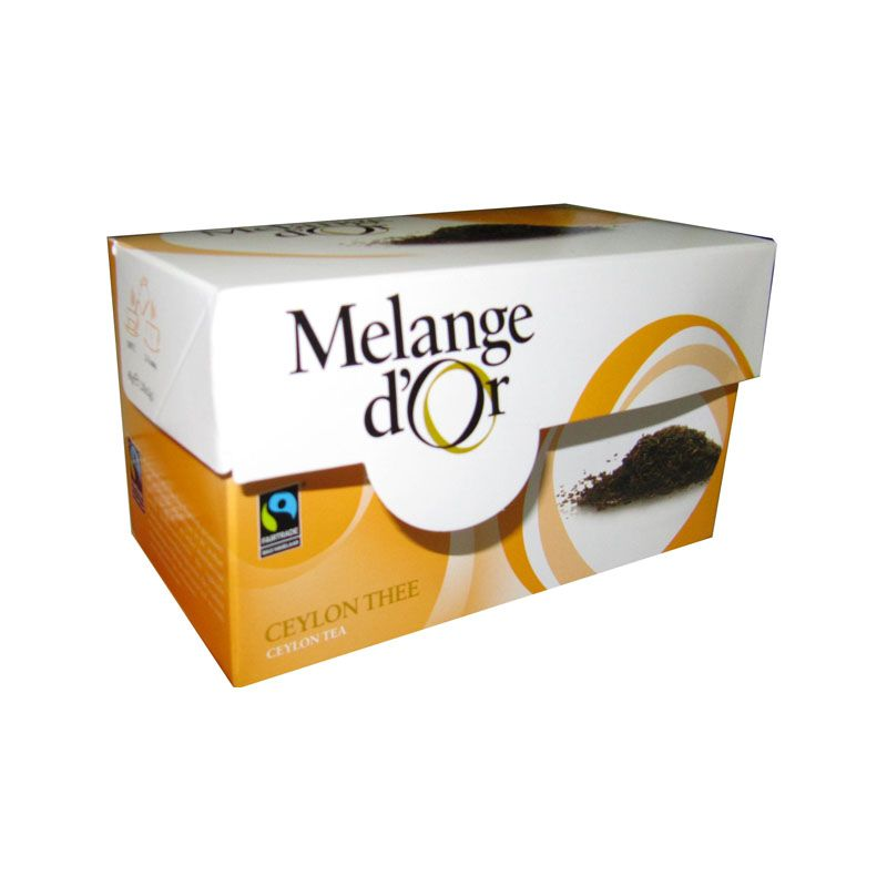 Melange d'Or Ceylon Thee Envelopjes 2 gram – Fair Trade