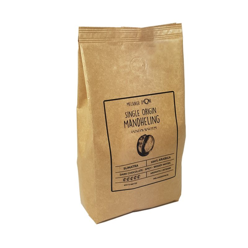 Melange d'Or Mandheling Single Origin Espressobonen 500 gram