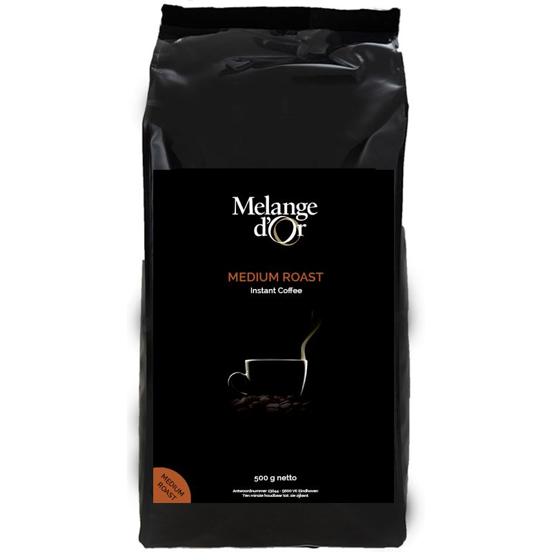 Melange d'Or Medium Roast instant koffie 500 gram