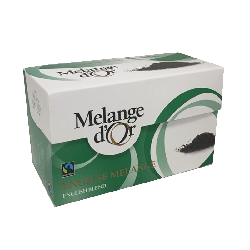 Melange d'Or Engelse Melange Thee Envelopjes 2 gram – Fair Trade