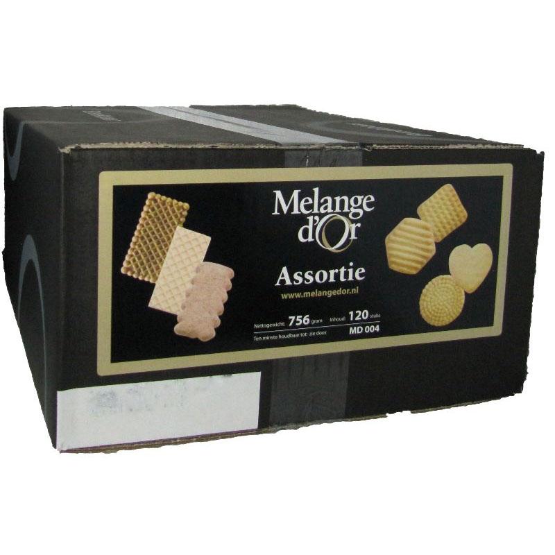 Melange d'Or Assorti Koekjes 7 Soorten