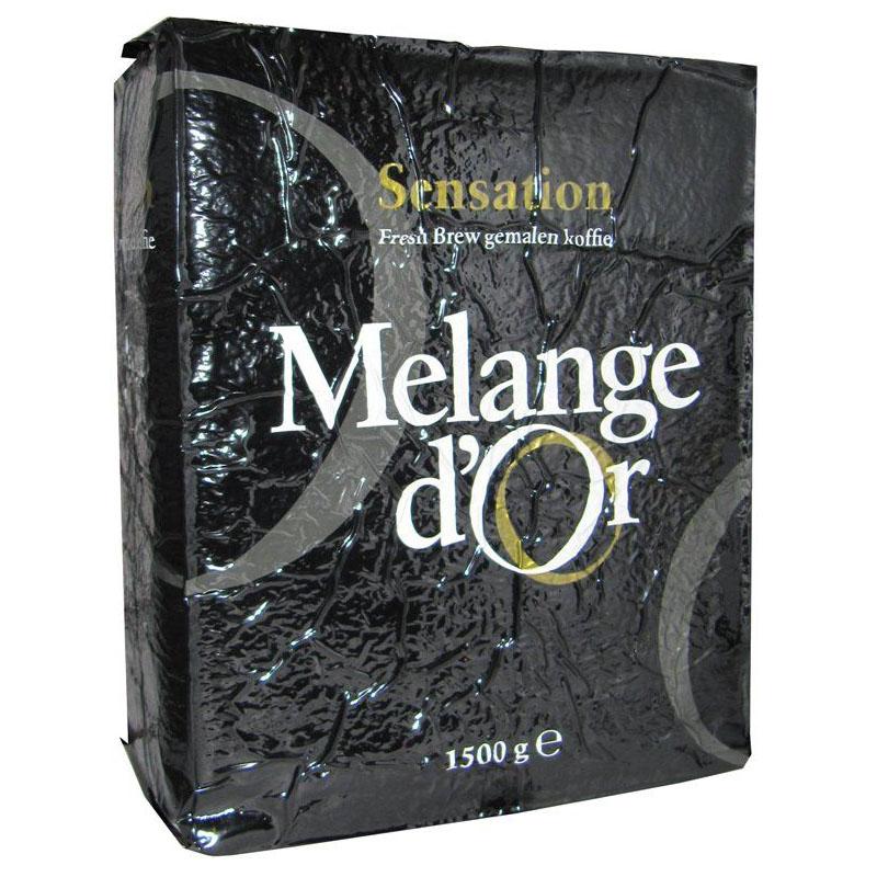 Melange d'Or Sensation Freshbrew Koffie 1,5 kg – 100% Duurzaam