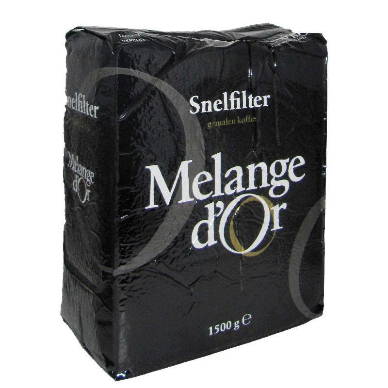 Melange d'Or Rood Snelfilter 1,5 kg – 100% Duurzaam