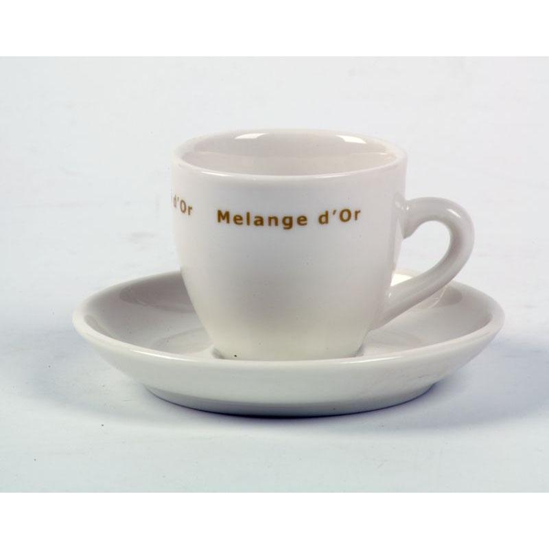 Melange d'Or Espresso Kop & Schotel