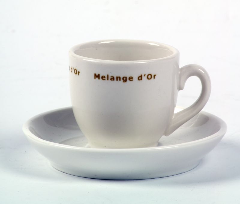 Melange d'Or Koffie Kop & Schotel