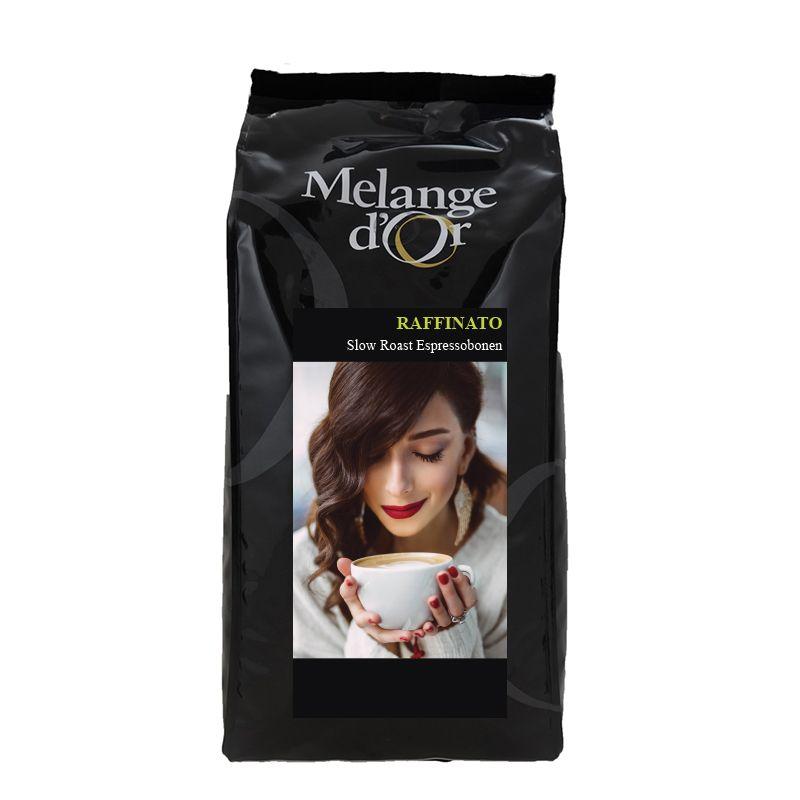 Melange d'Or Raffinato 100% Arabica Espressobonen 1,0 kg