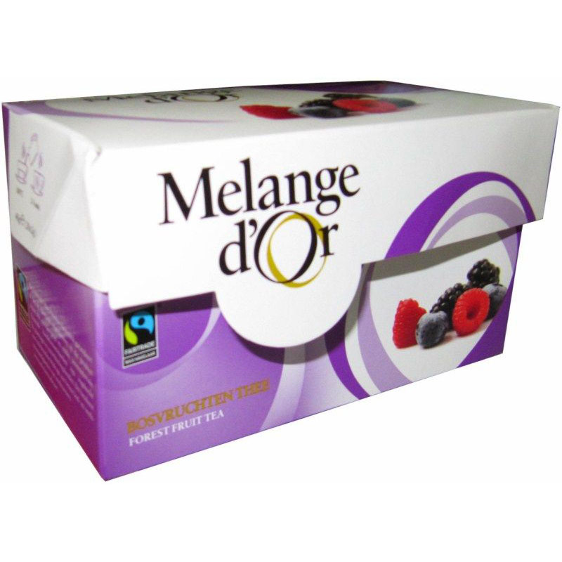 Melange d'Or Bosvruchten Thee Envelopjes 2 gram – Fair Trade