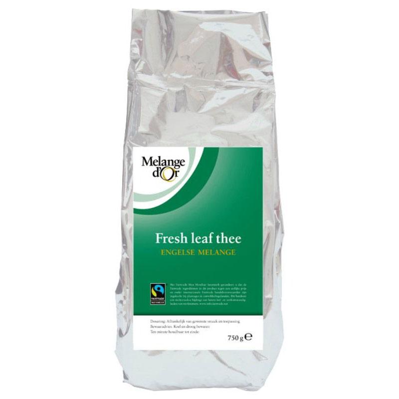 Melange d'Or Leaftea Engelse Melange 750 gram – Fair Trade