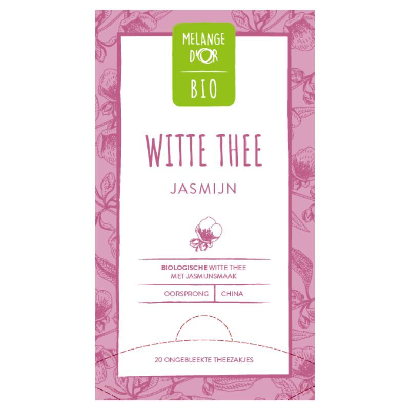 Melange d'Or Bio FT witte thee Jasmijn 20x 1,5gr.