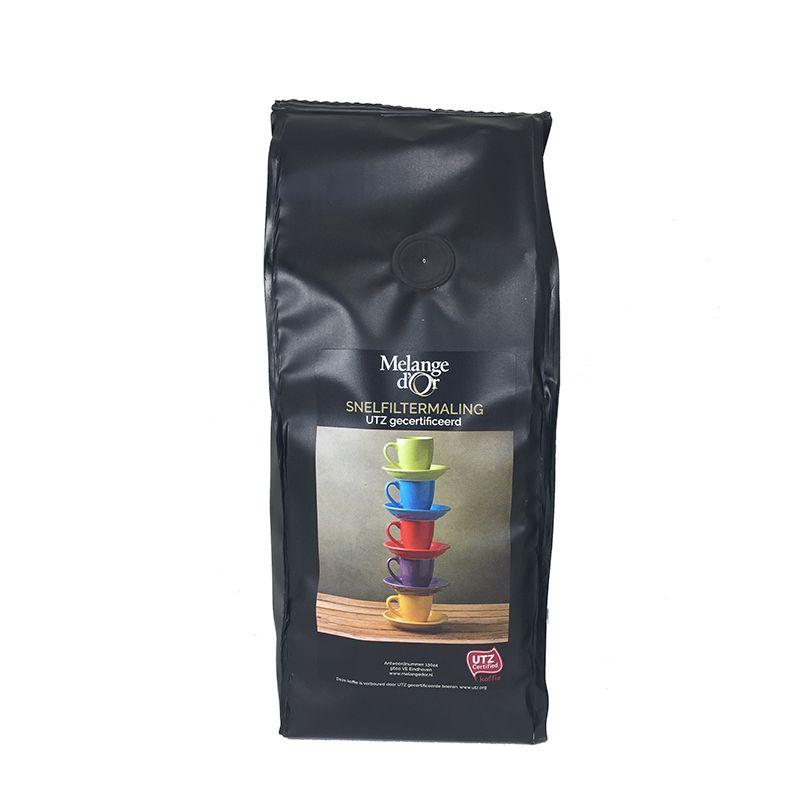 Melange d'Or Koffie Snelfiltermaling 250 gram – UTZ