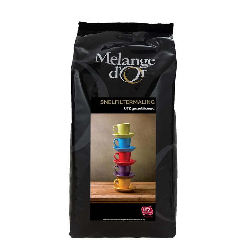 Melange d'Or Koffie Snelfilter 1,0 kg – UTZ