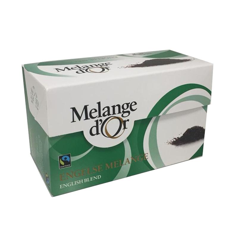 Melange d'Or Engelse Melange Thee Envelopjes 2 gram – Fair Trade