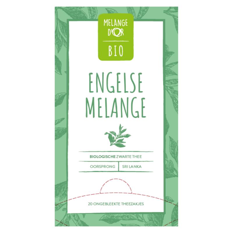 Melange d'Or Bio thee Engelse Melange 20x 1,5gr.